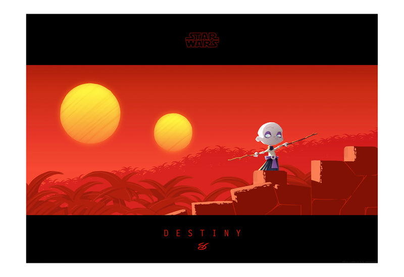 Little Ventress' Destiny by Nick Scurfield | Star Wars