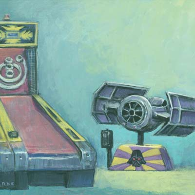 Arcade 1981 by Christian Slade | Star Wars