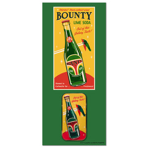 Bounty Soda Collectible Pin