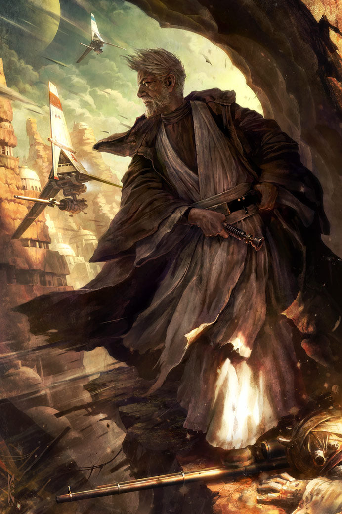 Silent Guardian by Raymond Swanland | Star Wars