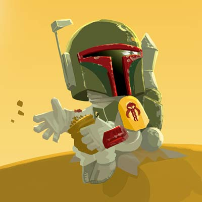 Little Boba's Destiny by Nick Scurfield | Star Wars
