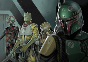 Marching Orders by Matt Difa | Star Wars