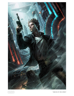 Ahead of the Odds by Raymond Swanland | Star Wars
