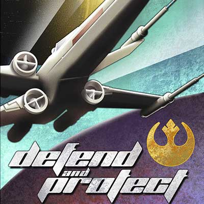 Defend and Protect by Mike Kungl | Star Wars