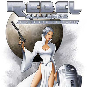 Leia (Rebel Alliance) by Mike Kungl | Star Wars