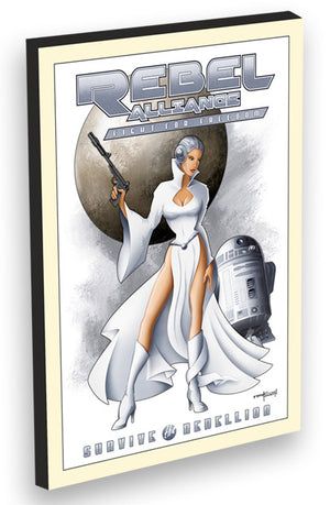 Leia (Rebel Alliance) by Mike Kungl | Star Wars - Gem Edition
