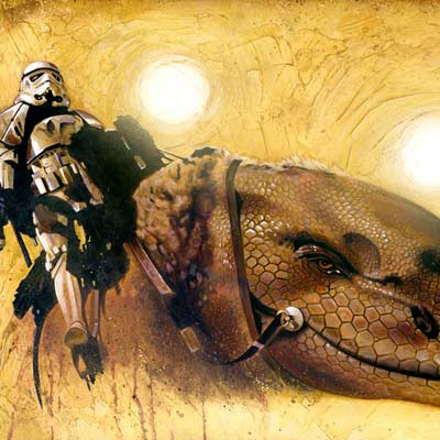 Dewback by Brian Rood | Star Wars