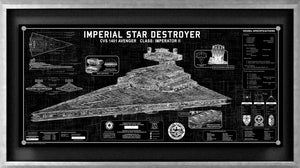 Star Destroyer SpecPlate | Star Wars frame