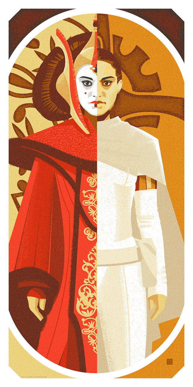 Queen and Senator by Danny Haas | Star Wars thumb