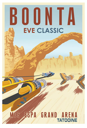 Boonta Eve Classic by Steve Thomas | Star Wars