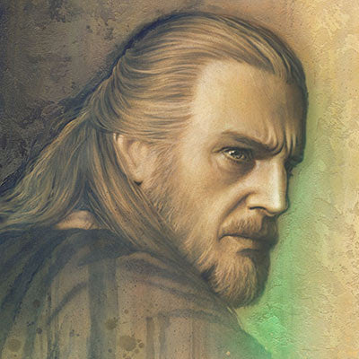 Timeless Series: Qui-Gon by Jerry Vanderstelt | Star Wars