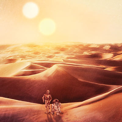 Tatooine Sunset by Rich Davies | Star Wars