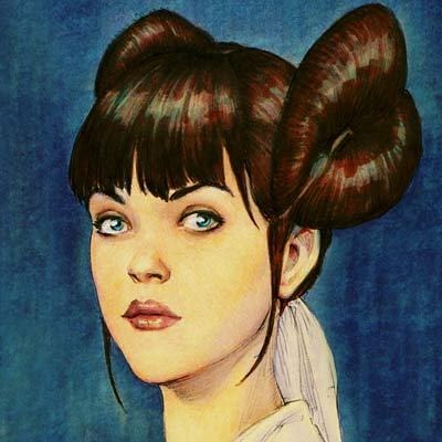 Padme Amidala by Iain McCaig | Star Wars