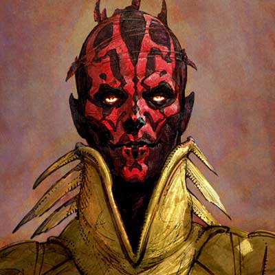 Darth Maul by Iain McCaig | Star Wars