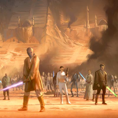 Arena Standoff by Ryan Church | Star Wars