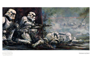 Pinned Down by Cliff Cramp | Star Wars paper