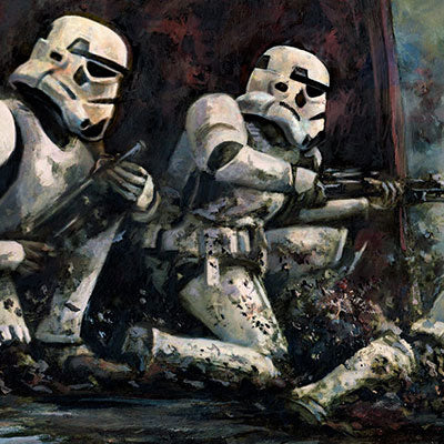 Pinned Down by Cliff Cramp | Star Wars