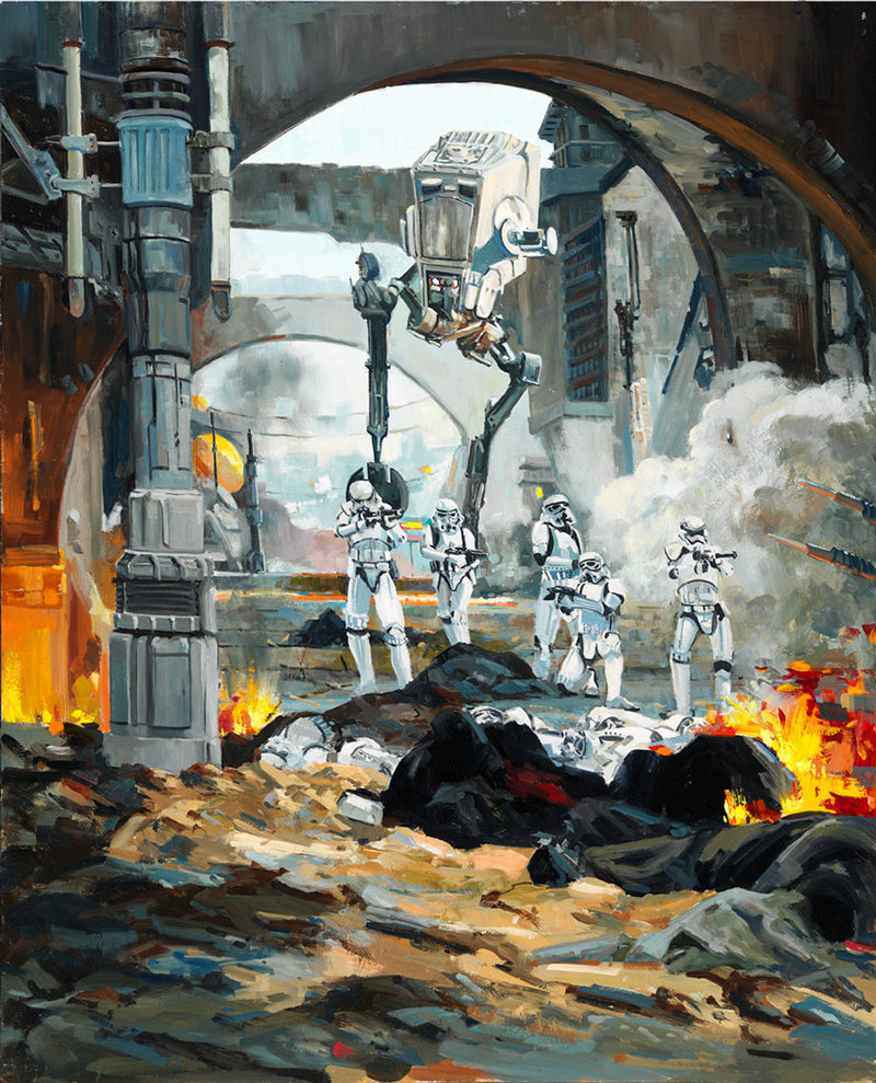 Danger Around the Corner by Liné Tutwiler | Star Wars