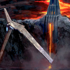Fortress of Mustafar by Cliff Cramp | Star Wars
