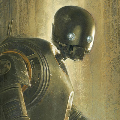Timeless Series: K-2SO by Jerry Vanderstelt | Star Wars