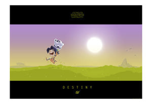 Little Ezra's Destiny by Nick Scurfield | Star Wars