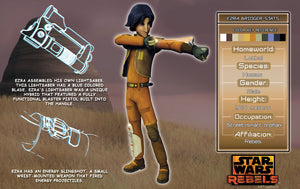 Ezra Bridger Character Key | Star Wars close up