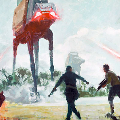 Under Fire by Christopher Clark | Star Wars