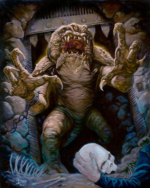 Rancor's Demise by Jaime Carrillo | Star Wars