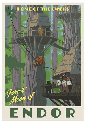 Home of the Ewoks by Steve Thomas | Star Wars