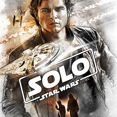 Flying Solo by Steve Anderson | Star Wars