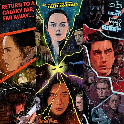 Sequel Set of 3 by J.J. Lendl | Star Wars thumb