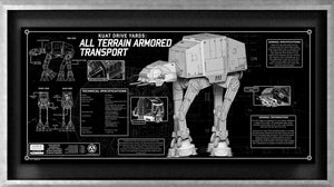 AT-AT SpecPlate | Star Wars frame