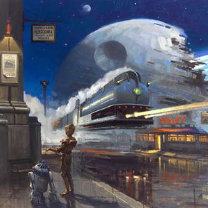 Droid's Discovery by David Tutwiler | Star Wars