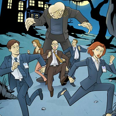 The X-Files #4: Mutato Variant by The Sharp Brothers | The X-Files