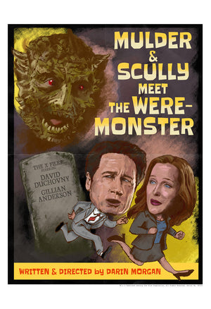 Mulder & Scully Meet the Were-Monster by J.J. Lendl | The X-Files