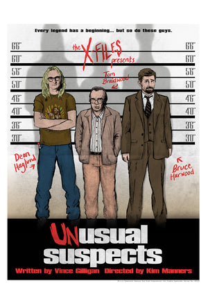Unusual Suspects by J.J. Lendl | The X-Files