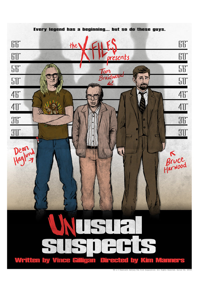 Unusual Suspects by J.J. Lendl | The X-Files thumb