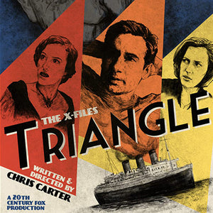 Triangle by J.J. Lendl | The X-Files thumb