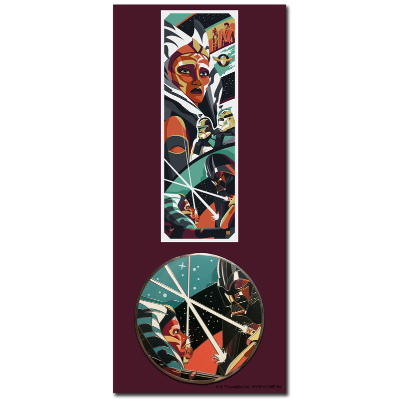 The Apprentice (Ahsoka/Vader) Collectible Pin