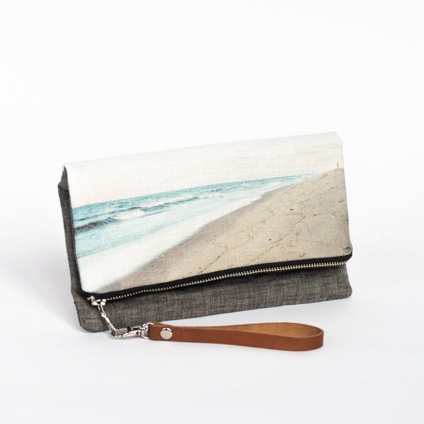 ANNA HERBST PHOTOGRAPHY Linen Clutch