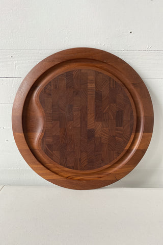 DANSK teak wood cutting board