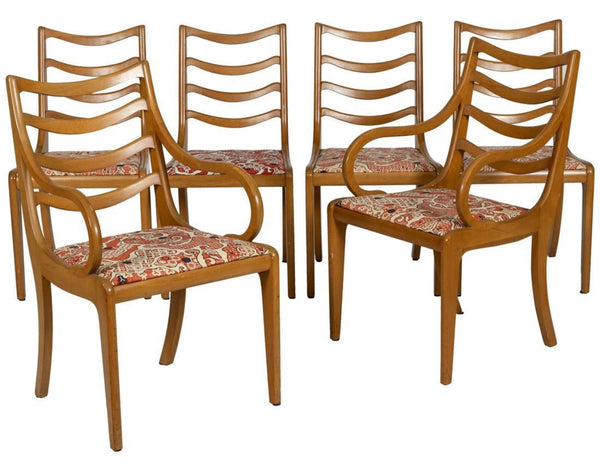 Blond wood dining set