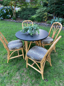 Rattan kitchen set