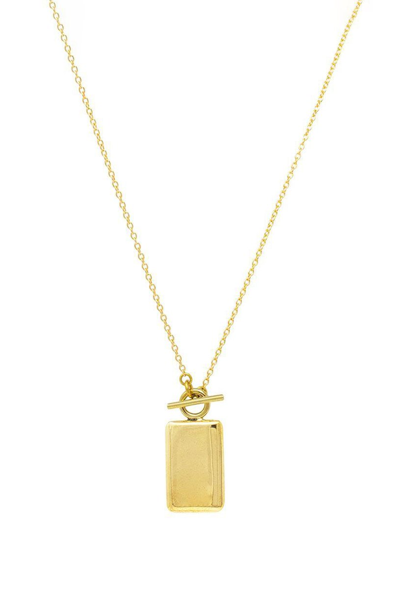 SOKO Rectangle Medallion Necklace