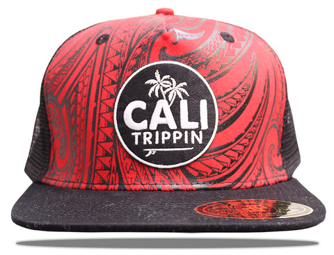 The Red Tribal Hat
