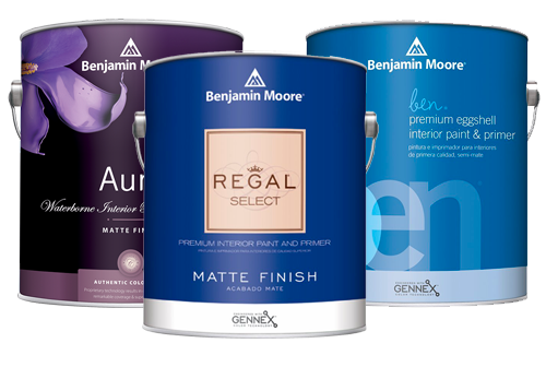 Shop paint for interior home painting at Mallory Paint Stores in Washington and Idaho.