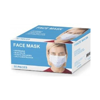 50 Pack general use face masks, available at Mallory Paint Store in WA & ID.