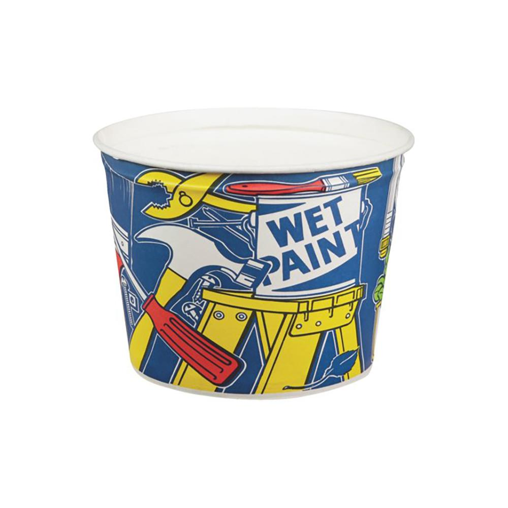 Leaktite Paper Pail, available at Mallory Paint Store in WA & ID.