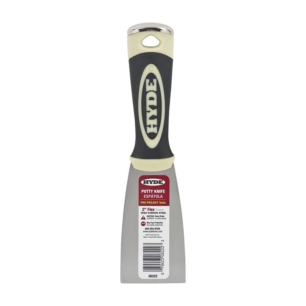 Hyde Pro Project Flex Putty Knife  available at Mallory Paint Store, Washington and Idaho, USA.