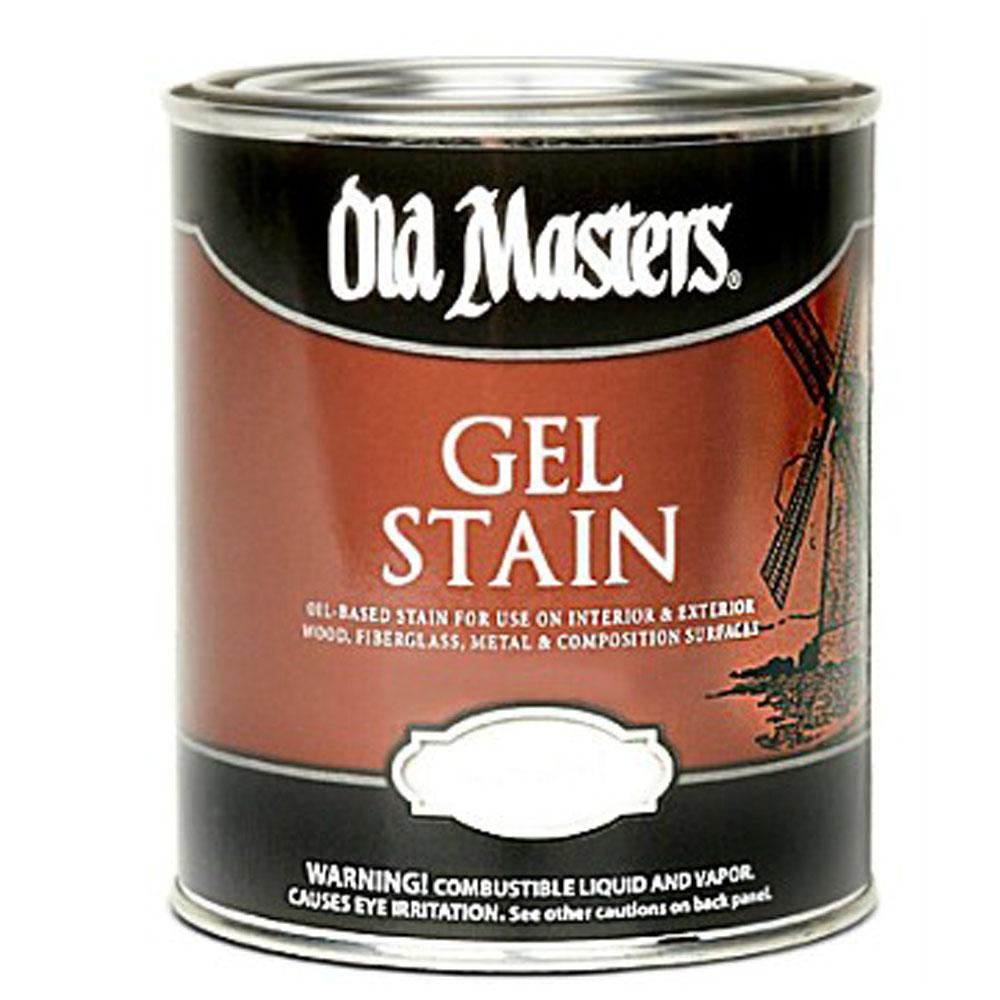 Old Masters Gel Stain, available at Mallory Paint Store in WA & ID.